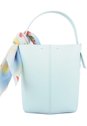 RO Bags green RO Terranova Felucca Mini Top Handle Bucket Bag in Mint Green/Spring Green 70116ACF03EDE2GS_1