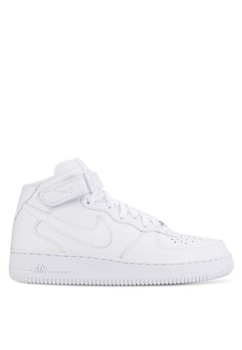 Nike white Men's Nike Air Force 1 Mid '07 Shoes C3D3BSH7B00DBAGS_1