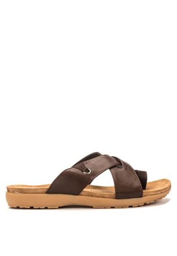 TNT brown Sandals TN131SH95TVOPH_1