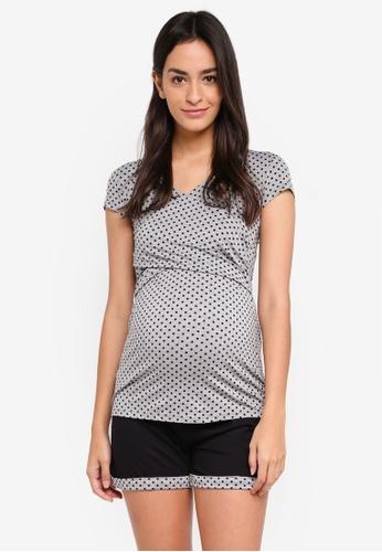 Envie De Fraise grey Maternity Candy Tank Pajamas 29FB5AADFFB2B3GS_1