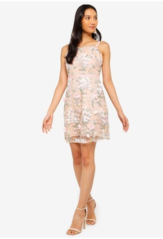 24d616994e 50% OFF Miss Selfridge Pink 3D Frill Mini Dress RM 479.00 NOW RM 239.50  Sizes 8 10 12 14