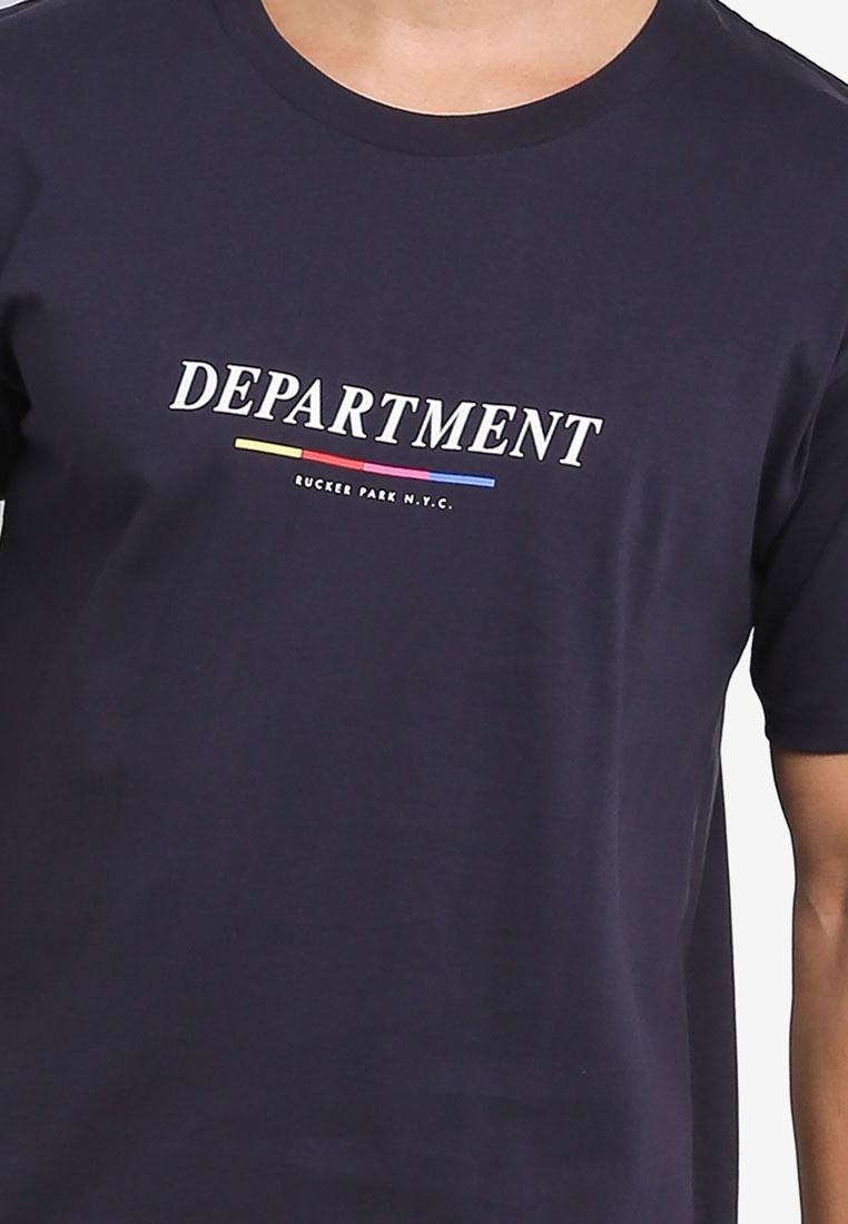 Navy Ae On Park Tee Dylan True Department Cotton Rucker nprBXSr