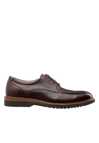 Obermain brown Obermain Men's Cyrus Levi Lace Up Loafer BFC91SHA195B28GS_1