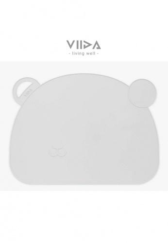 Viida [VIIDA] The Joy Series Slip-proof Placemat, Raindrop Grey - Eco-Friendly & FDA Certified 9ABBEHL7BEC83CGS_1