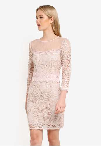 b918e1eb16cc0 Buy Miss Selfridge Premium Embellished Sequin Dress Online on ZALORA ...