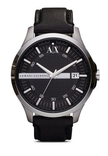 Armani Exchange black Black/Black Armani Exchange Hampton AX2101 AR162AC57AEGMY_1