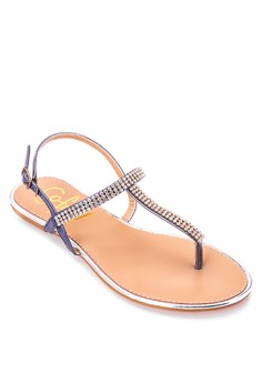 London Flat Sandals