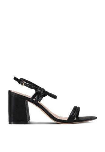 ALDO black Jerundra Open Toe Ankle Strap Block Heels 4E581SHC481D64GS_1