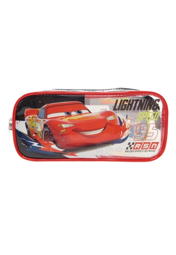 Disney Cars Disney Cars RSN Transparent Square Pencil Bag Set CEC6EKC9058DE7GS_1