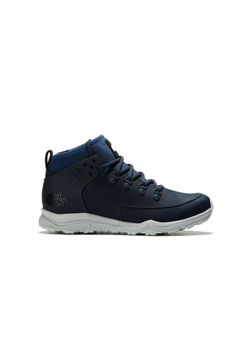 The North Face blue The North Face M Dellan Mid Shady Blue/Urban Navy D5033SH8DE00A3GS_1