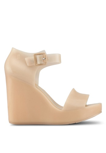 Melissa 米褐色 Melissa Mar Ad 楔型鞋 50D90SH75E6F0FGS_1