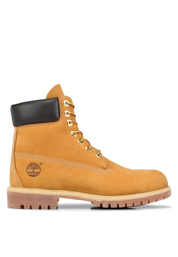 """Timberland brown Timberland Men's Icon 6\ Premium Classic Boots"""""""""""" TI063SH65PZMMY_1"""