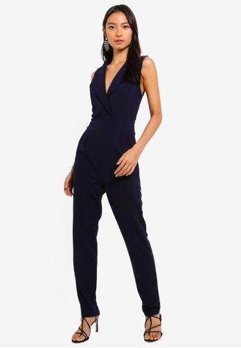 dfedc738de27 Shop Mela London Tuxedo Top Jumpsuit Online on ZALORA Philippines