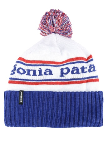 Patagonia blue and multi Powder Town Beanie PA549AC0RQF5MY_1