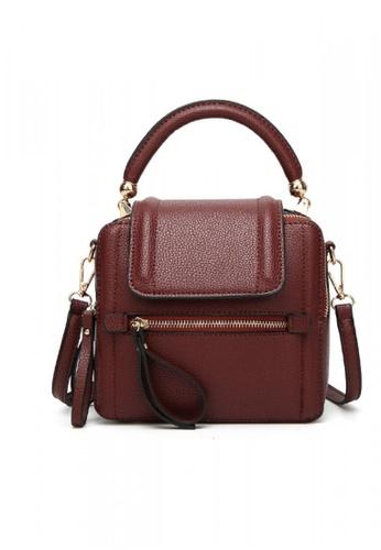 Lara red Women Top Handle Shoulder Bag - Red 23FEAAC8CCA147GS_1
