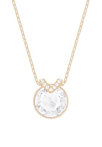 Swarovski gold Bella Pendant Necklace 202CDACEB6A1F7GS_1