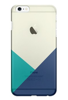 Triangular All Transparent Hard Case for iPhone 6 Plus
