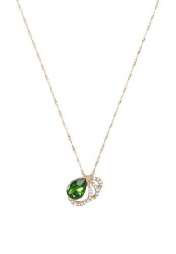 Christie 閃鑽寶石吊飾項鍊, 飾品配esprit 品牌件, 項鍊
