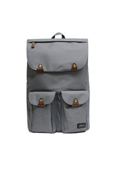 Triango Series Taylor Earl Grey Water Repellent Nylon Laptop Backpack