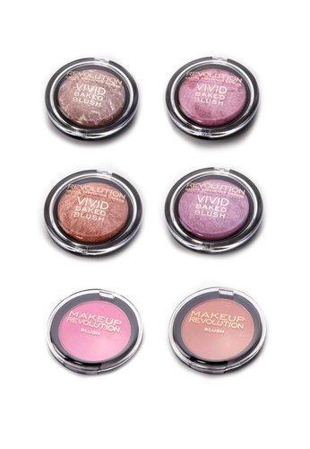 Makeup Revolution Blush Best Sellers Collection MA670BE66RSBSG_1