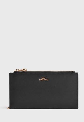 Tocco Toscano black Fel Long Wallet (Black) B5AF1ACF1A2E62GS_1