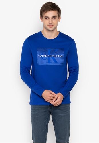 Shop Calvin Klein Monogram T-Shirt Online on ZALORA Philippines d106afd17