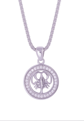 Buy Shantal Jewelry Cubic Zirconia Silver Horoscope Cancer Necklace