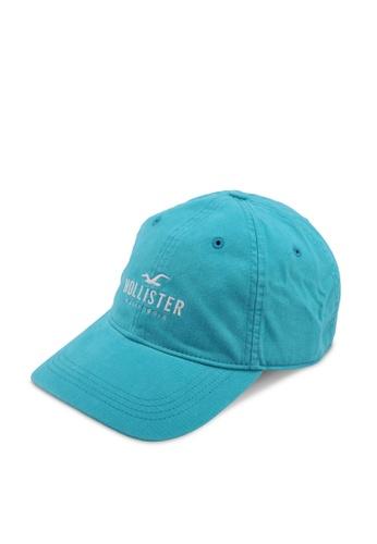 Hollister blue Logo Dad Twill Cap 3E4D5AC95421D9GS_1
