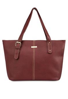 Vintage Contrast Stitching Ladies Tote Bag