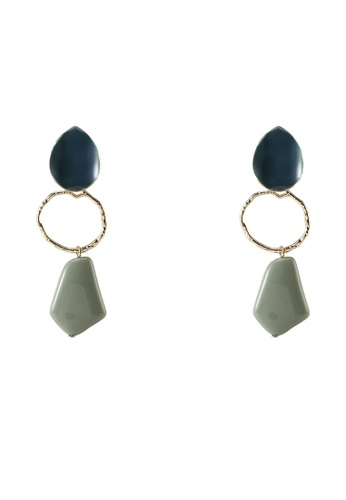 niko and ... blue Resin Earrings C32F1AC1983F05GS_1