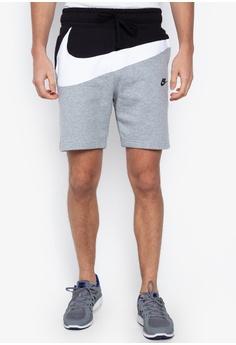 ffd0273ef8ae Nike grey As M Nsw Hbr Shorts Ft Stmt BDFAEAAA304867GS 1