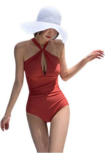 Halo Deep V Slim Fit Swimsuits 5BAF8US8C2C869GS_1