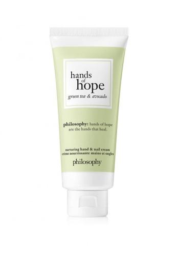 Philosophy Philosophy Hands Of Hope Green Tea & Avocado Hand Cream 30ML 112CDBEA663E0AGS_1