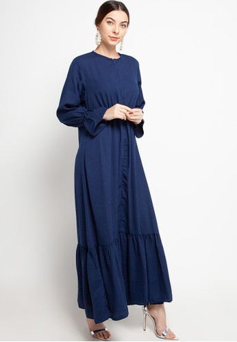 Covering Story navy Aiza Dress - A C0998AAB3F1D20GS_1