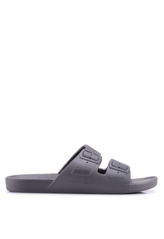 5c7cff1ed714 Freedom Moses grey Basics Stormy Sandals 185D6SHFE755A3GS 1