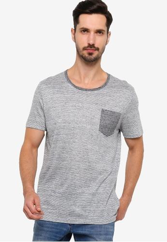 BOSS grey T-Tribel 11 T-Shirt E49EDAA8E62BECGS_1