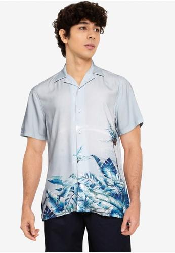LC Waikiki green Printed Viscose Shirt B73C3AA9C74D61GS_1