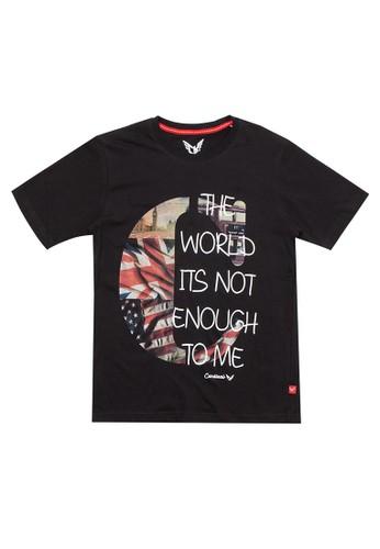 "Cardinal Kids black T-Shirt Anak ""C"" DFE2CKAADF4441GS_1"