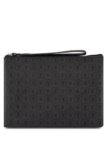 Playboy black Small Clutch Bag BB723AC3C3C1FEGS_1
