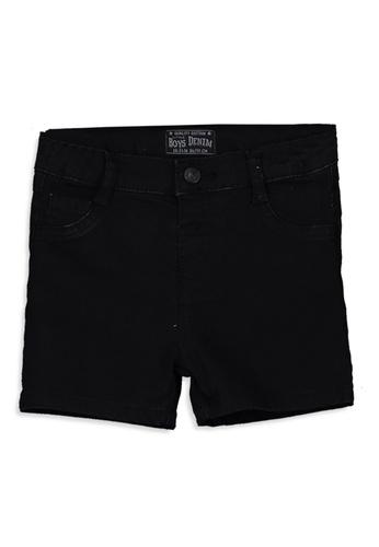 LC Waikiki black Baby Boy Denim Shorts 22CB4KAC43E450GS_1