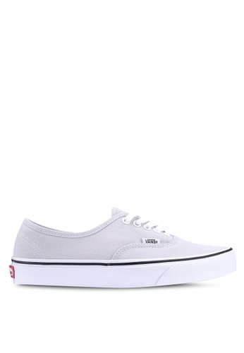 VANS grey Authentic Colour Theory Sneakers 2125CSH7D8FC4CGS_1