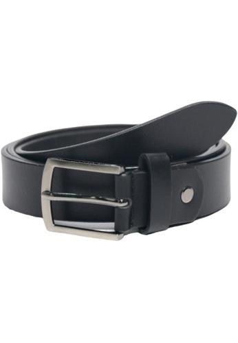 Oxhide black Casual Full Grain Leather Belt Men 3cm or 30 mm C21 Oxhide Black 4C970ACF17E7D7GS_1