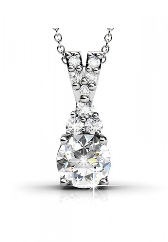 Her Jewellery silver Her Jewellery Queenie Pendant with Necklace Chain with 18K Gold Plated BBE9CAC88C5874GS_1