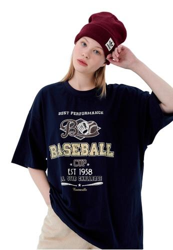 Twenty Eight Shoes Make Old Vintage Printed Short T-shirt HH1075 CE1CDAA3E00333GS_1
