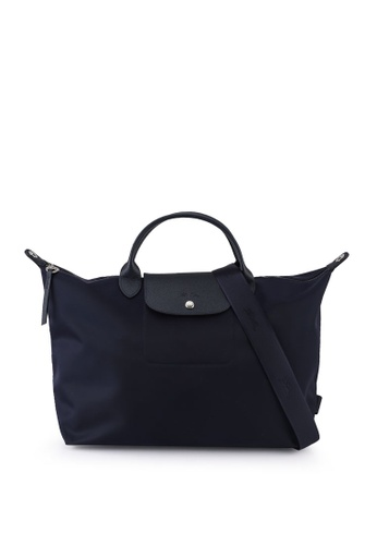LONGCHAMP navy Le Pliage Néo Top Handle Bag L (nt) 38113AC5EFED1AGS_1