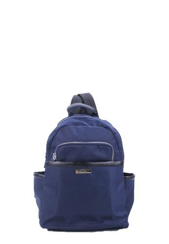 Silver Tote navy Silvertote Tas Ransel Wanita Sadie Backpack Nylon Navy 96AF6ACD802587GS_1