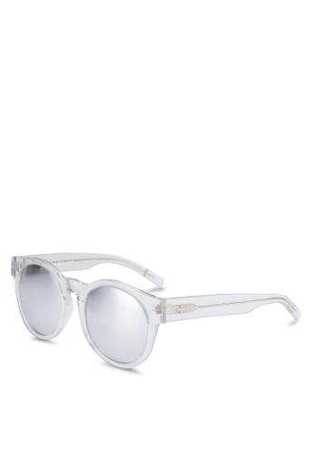 BLANC & ECLARE white Shanghai Sunglasses D75B6GLF3713B7GS_1