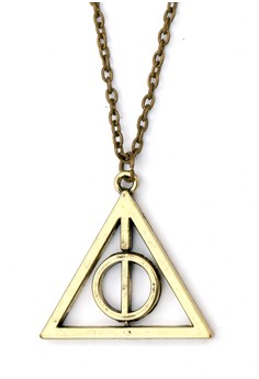 Rotating Deathly Hallow Necklace