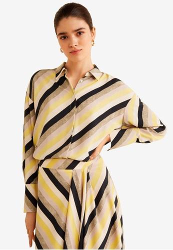 85ad1216a Shop Mango Multicolor Striped Shirt Online on ZALORA Philippines