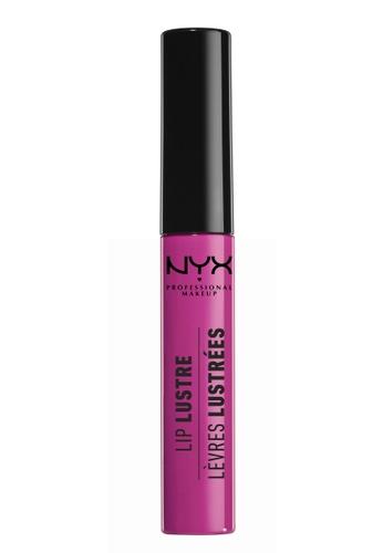 NYX Professional MakeUp pink Lip Lustre Glossy Lip Tint - Retro Socialite 27474BECAC42E9GS_1